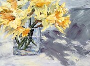 Anna Kopcok, Daffodils and Shadows