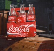 Bryan Coombes, Four Empty Cokes
