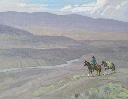 Peter Ewart, Above the Black Canyon